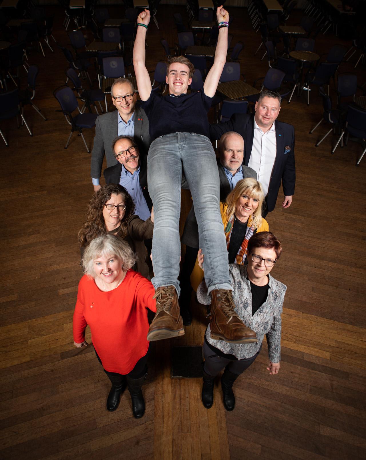 Hålogalansrådet satser på ungdommen. Foto: Øivind Arvola